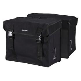 Basil Kavan Doppeltasche XL schwarz